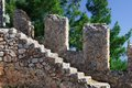 Free Stone Steps Of An Ancient Ladder. Royalty Free Stock Photo - 25361145