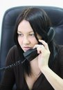 Free A Young Attractive Businesswoman With Phone Stock Photos - 25364673