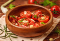 Free Tomato Salad Stock Photography - 25366702