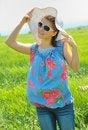 Free Teen Girl On Field Stock Photo - 25369740
