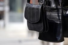 Free A Black Bag Royalty Free Stock Images - 25361139
