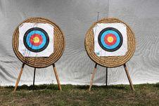 Free ArcheryTarget Stock Photography - 25362032