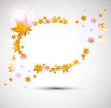 Free Autumn Background With Great Color Lights Stock Photo - 25365400