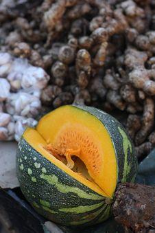 Free Sale Of Pumpkin Royalty Free Stock Photos - 25366168