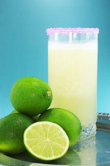 Free Lemon Juice And Lima Fruit Stock Photography - 25366222