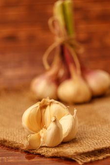 Free Garlic Stock Photo - 25366590