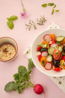Free Summer Salad Royalty Free Stock Photography - 25366867