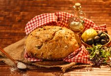 Free Rustic Bread Stock Photo - 25366960