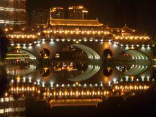 Free Chinese Bridge Stock Photos - 25367643