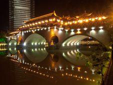 Chinese Bridge Royalty Free Stock Photo