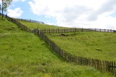 Free Land Fence Royalty Free Stock Photos - 25369278