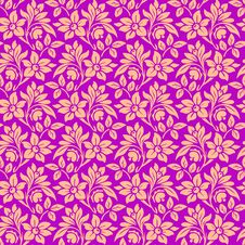 Free Seamless Wallpaper Pattern Royalty Free Stock Photos - 25369648