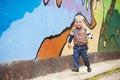 Free Cheerful Runner Kid Royalty Free Stock Image - 25377366
