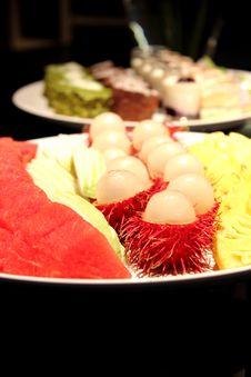 Still-life Of Fresh Fruit Stock Image