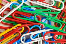 Free Colorful Clips Stock Image - 25371441