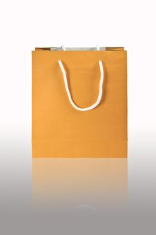 Free Brown Paper Bag Royalty Free Stock Photo - 25371445