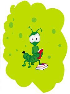 Free Bookworm Stock Image - 25375731