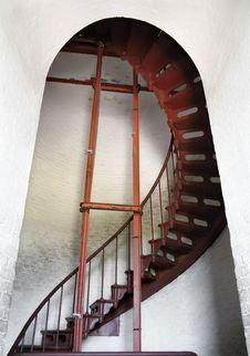 Inside The Lighthouse Stock Photos