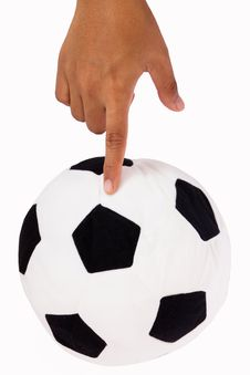 Free Soccer Ball Royalty Free Stock Image - 25377756