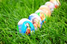 Free Easter Eggs Royalty Free Stock Photos - 25379348