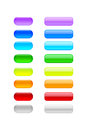 Free Colored Blank Buttons Royalty Free Stock Images - 25384939