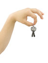 Free Hand Holding Bunch Of Keys Stock Photos - 25385853