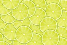 Free Slices Of Lime Royalty Free Stock Photos - 25385898