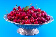 Free Chilled Cherries Stock Photo - 25388250