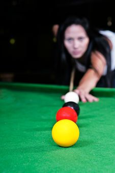 Free Snooker Royalty Free Stock Images - 25389129