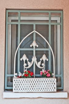 Free Window In The Farmhouse Royalty Free Stock Photography - 25389207
