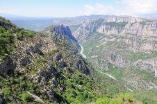 Free Verdon Gorge. Stock Image - 25389581