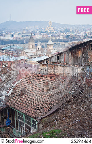 Free View Of Tbilisi, Georgia Stock Images - 25394464
