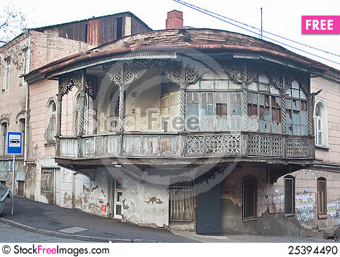 Free Old Town.Tbilisi, Georgia. Stock Photo - 25394490