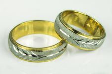 Free Wedding Rings Royalty Free Stock Photo - 25391995