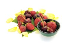 Free Summer Fruits Royalty Free Stock Images - 25393109