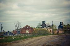 Tornado Consequences Royalty Free Stock Photo