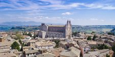Free Orvieto Cathedral And Aerial View Royalty Free Stock Photos - 25394358