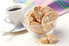 Free Cantuccini Cookies Royalty Free Stock Photo - 25395775