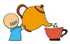 Tea Time Stock Image
