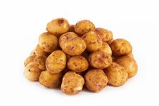 Free Potatoes Royalty Free Stock Photo - 25399175
