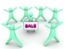 Free Sale Success Stock Photo - 25399680