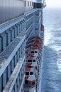 Free Ships Lifeboats Royalty Free Stock Image - 2542356