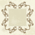 Free Vintage Flowers Frame Royalty Free Stock Images - 2545989