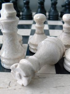 Free Marble Chess Royalty Free Stock Images - 2541259