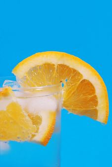 Free Oranges And Bubbles Stock Image - 2541651