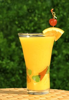 Free Glass Of Fresh Squeezed Organi Stock Photo - 2542070
