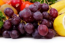 Free Grapes Royalty Free Stock Photography - 2543137