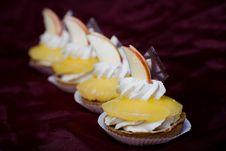 Pineapple-cake Stock Photo