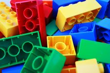 Free Colourful Bricks Royalty Free Stock Photo - 2543445
