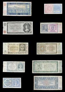 Protectorate Money Stock Photo
